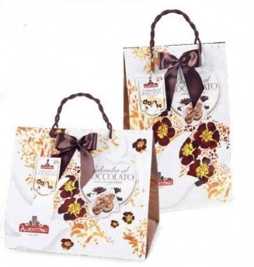 "COLOMBA ""SPRING BAG"" WITH CHOCOLATE 1Kg. ALbertengo"