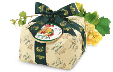 Panettone flavoured with Moscato
