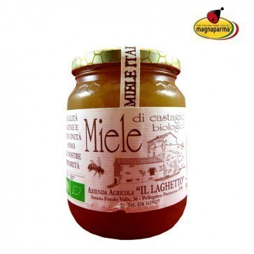 Organic chestnut honey 500 gr