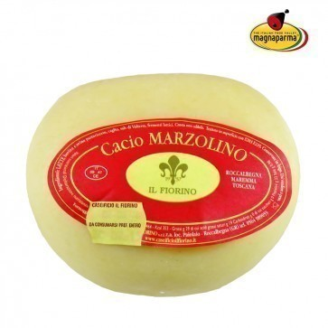 Whole Fresh cheese Cacio Marzolino 900 g