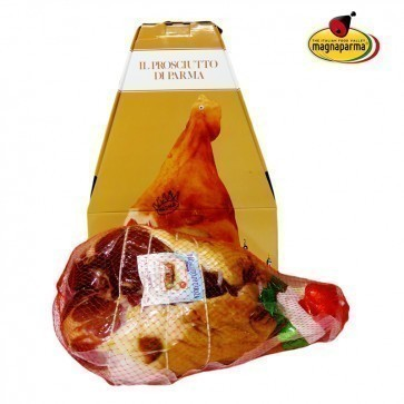 Whole boneless Parma ham P.D.O 8,5 kg - aged 24 months in a gift box