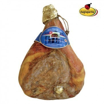 Whole Parma ham P.D.O. - 10,5 kg - aged over 24 months
