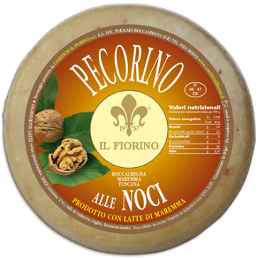 Pecorino with fine walnut 1 kg