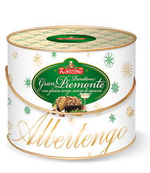 """Panettone """"Great Piedmont"""" flavoured with Moscato 1 kg - cylinder"""