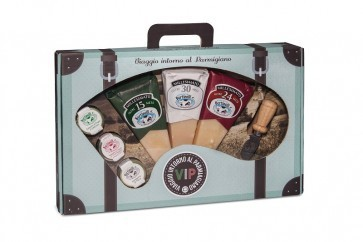 "V.I.P. Special pack with three pieces of Parmigiano Reggiano PDO ""Millesimato"""