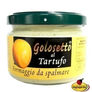 """Golosetto"" with Parmigiano Reggiano and Black Truffle 250 g"