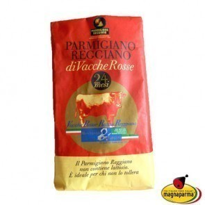 "Parmigiano Reggiano PDO  ""Red Cows"" over 24 months aged - tip 1 kg"