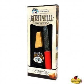 Parmigiano Reggiano PDO Millesimato 36 months aged and grater - Cucina Collection Bertinelli