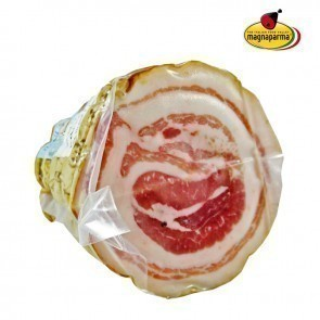 Rolled pancetta with pork rind (Bacon) piece 1 kg