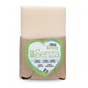 "Semi-mature cheese  ""IL SENZA"" with Vegetable Rennet - tip 1 kg"