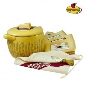 TUREEN AND SELECTION OF PARMIGIANO REGGIANO