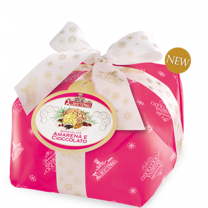 Panettone cherry and chocolate 1 kg