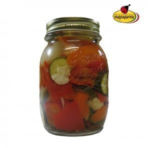 Giardiniera Stradivarius – Vegetables in olive oil 610 g