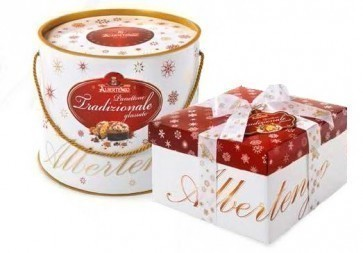 Panettone  (gâteau) traditionnel 1 kg - cylindre